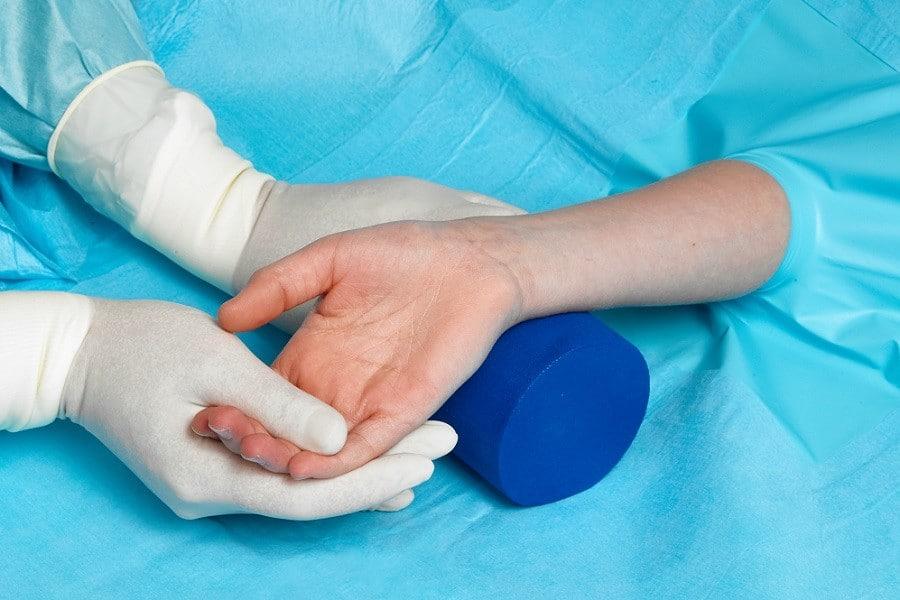 OP-Lagerung Handchirurgie